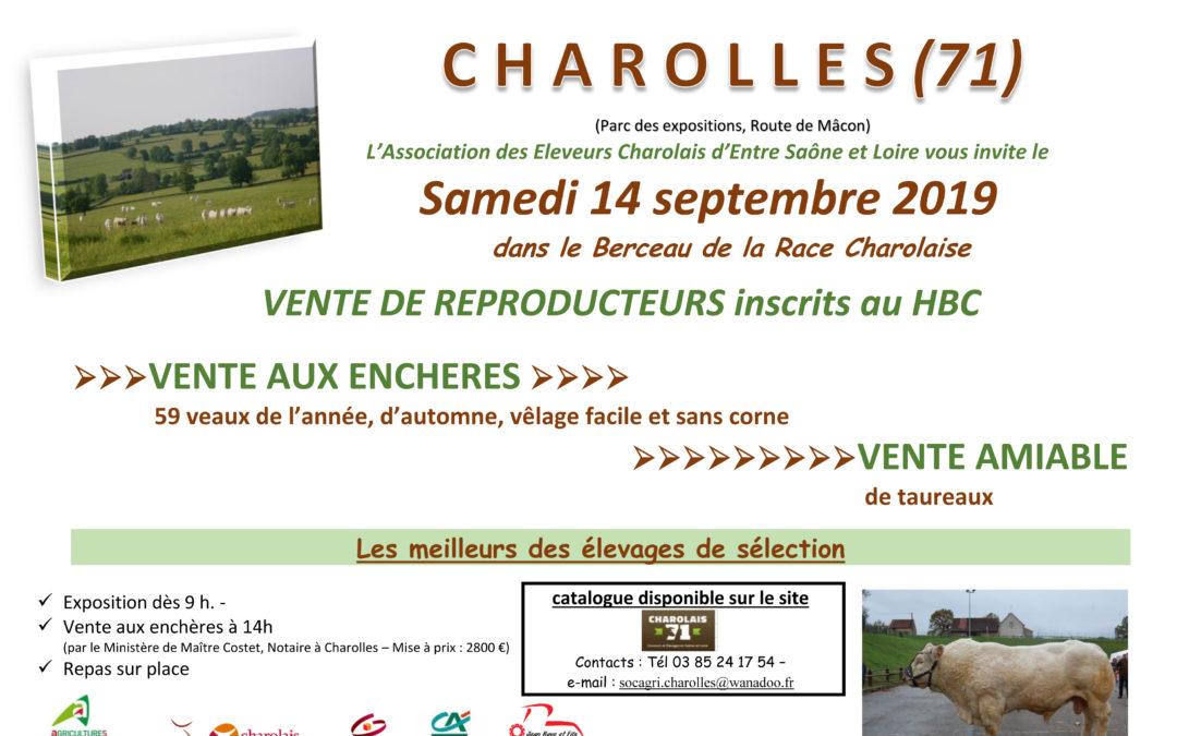 VENTE DE CHAROLLES